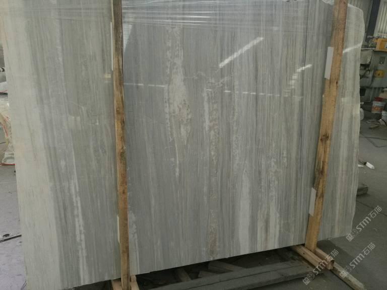 锦程石业:欧亚木纹(蓝天白云直纹)系列全 -石材供应图片