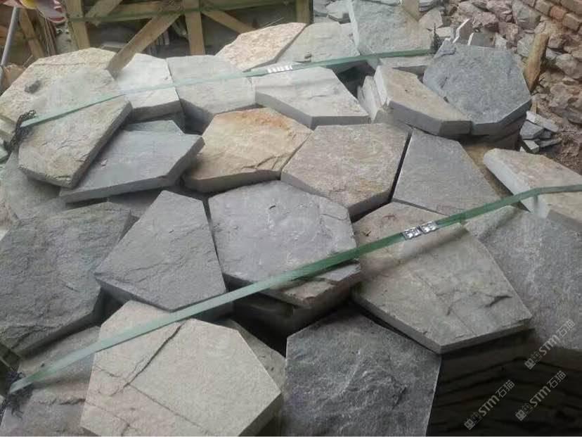 【供应】青石板碎拼文化石