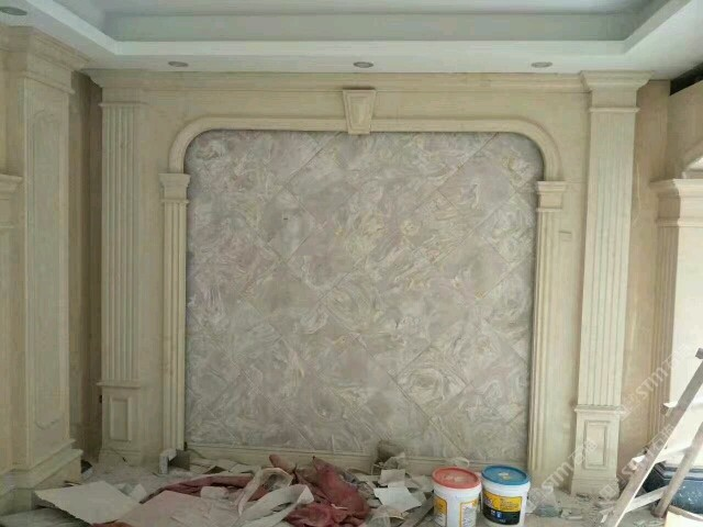 【求购】专业安装背景墙,窗门套,水刀拼花,等异形家装大理石