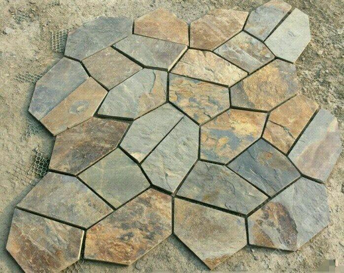 板岩 冰裂纹碎拼 文化石 17156800678