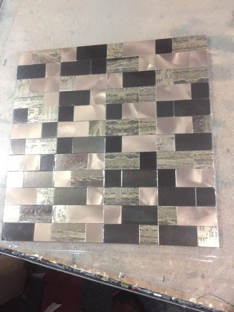 欧式石灰菱形墙砖贴图