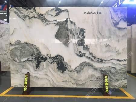 背景墙,山水画,山水画背景,天然大理石背景